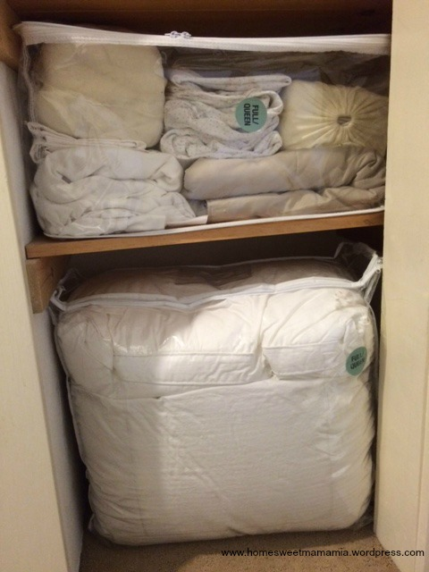 Beau Get Organized In 2015 Storage Solutions Extra Blankets And Linens .