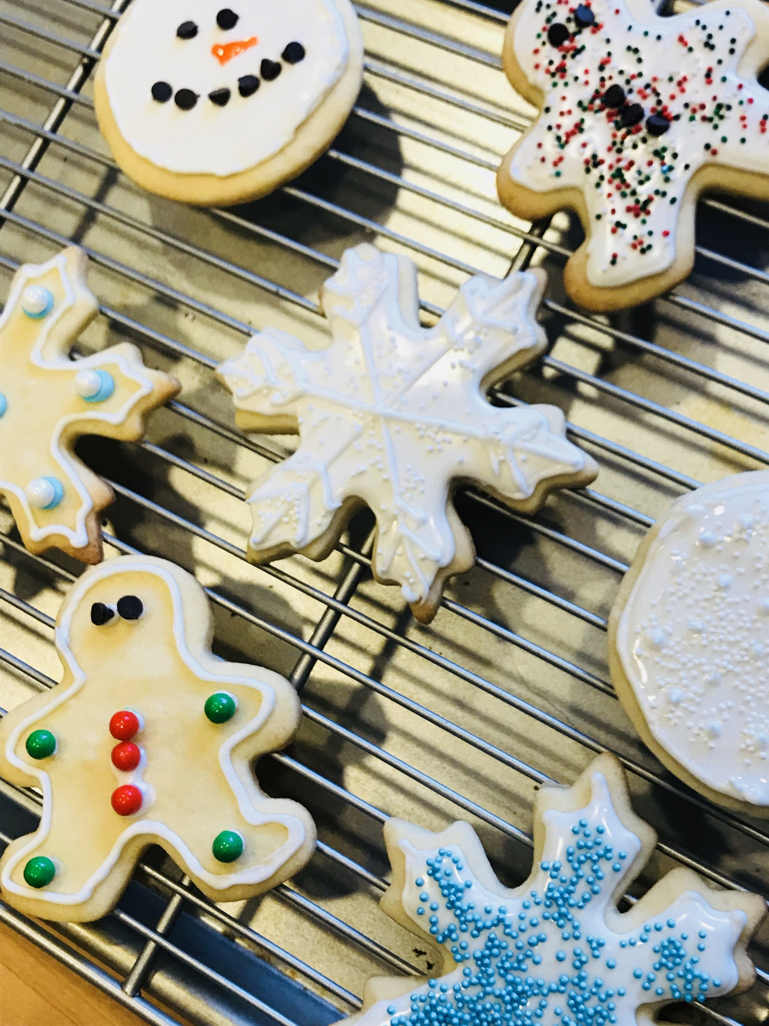Classic Christmas Sugar Cookies With Royal Icing Recipe Home Sweet